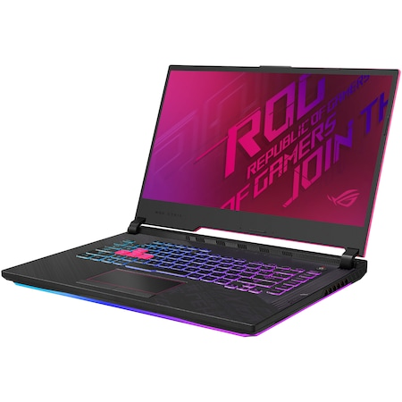 "Лаптоп Gaming ASUS ROG Strix G15 G512LU, 15.6"" FHD 144Hz, Intel® Core™ i7-10750H, RAM 16GB, SSD 512GB, NVIDIA® GeForce® GTX 1660Ti 6GB Optimus, No OS, Electro Punk"