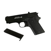 Pistol Airsoft Metalic Arc Spring DETONICS 45, S-1+ 200 bile 0.25 g