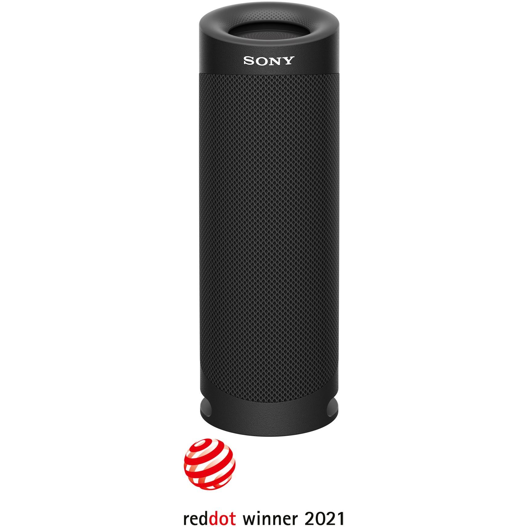 Fotografie Boxa portabila Sony SRS-XB23B, Extra Bass, Rezistenta la apa IP67, Bluetooth 5.0, Autonomie 12 ore, Microfon, Negru