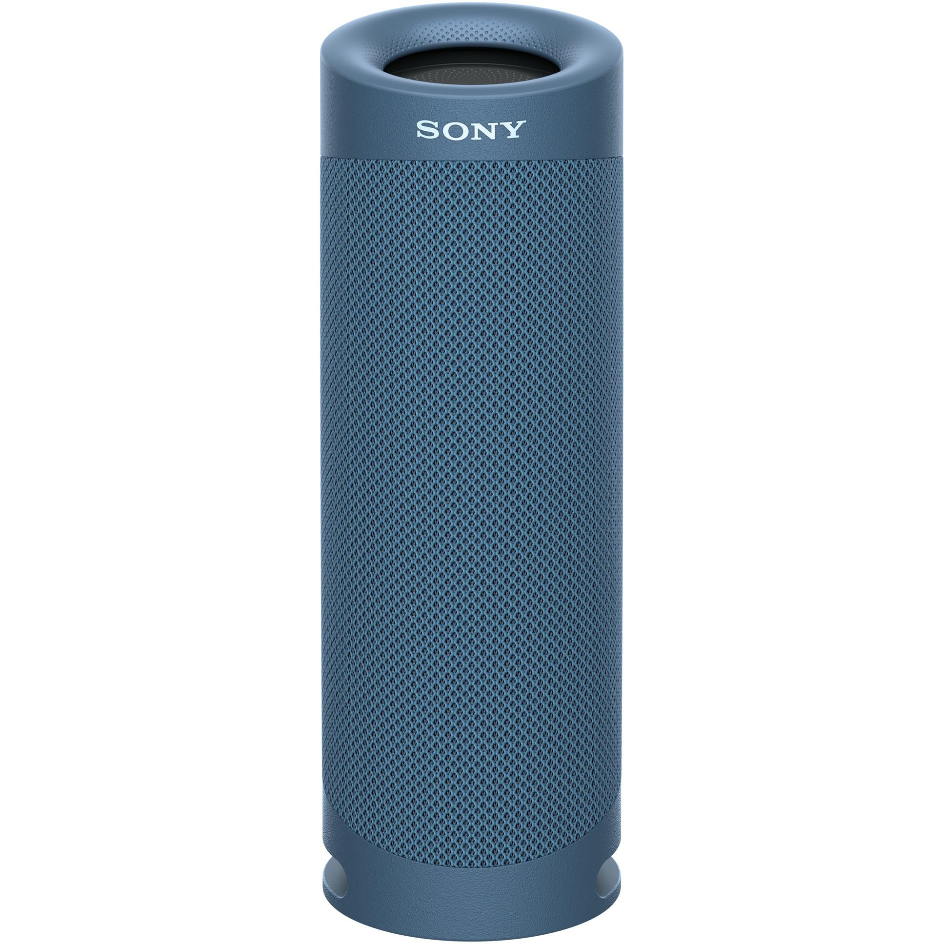 Fotografie Boxa portabila Sony SRS-XB23L, Extra Bass, Rezistenta la apa IP67, Bluetooth 5.0, Autonomie 12 ore, Microfon, Albastru