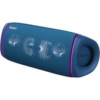 Boxa portabila Sony SRS-XB43L, Extra Bass, Efect de lumini, Rezistenta la apa IP67, Bluetooth 5.0, NFC, Autonomie 24 ore, Microfon, USB Type-C, Albastru