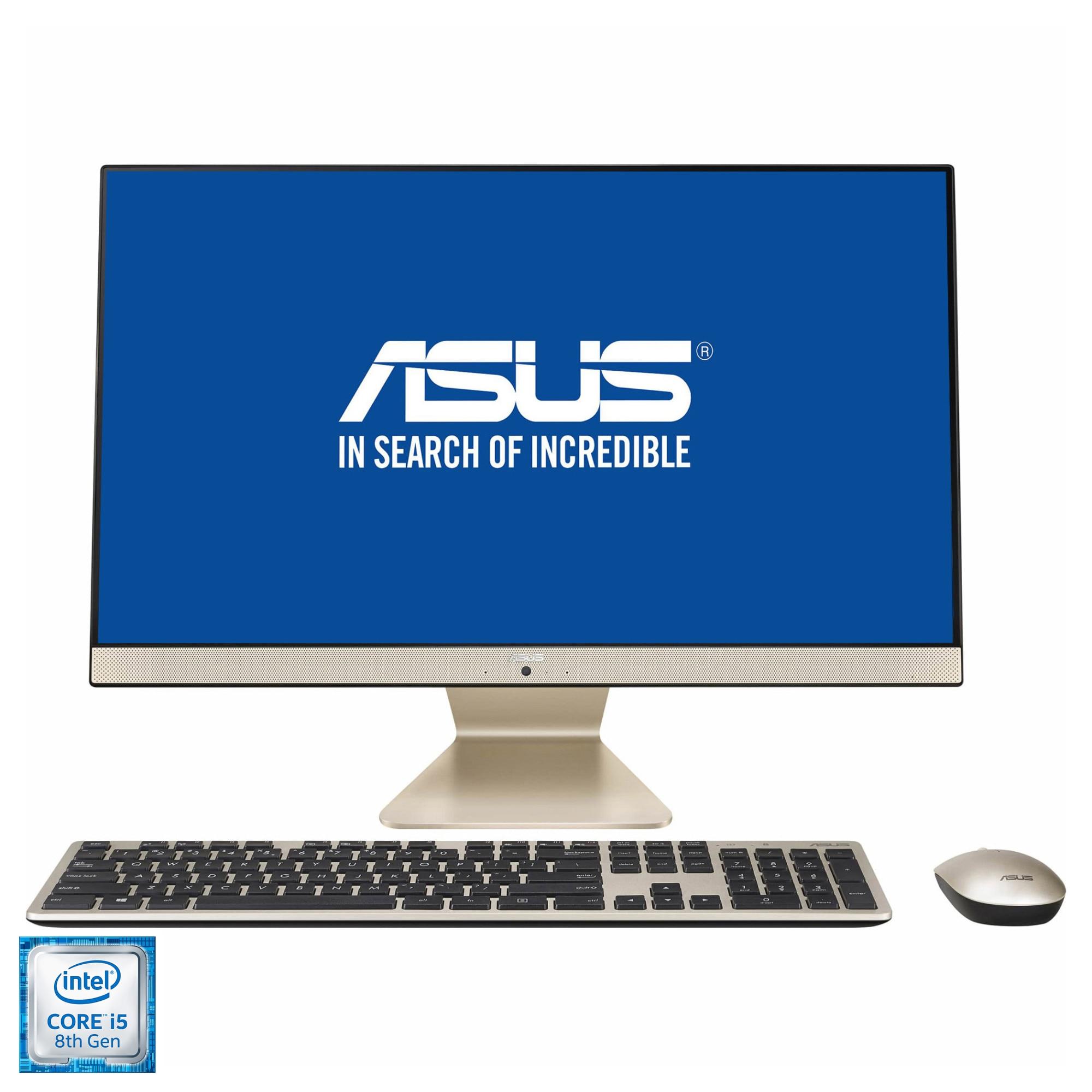 "Fotografie Sistem All-in-One ASUS V241FFK cu procesor Intel® Core™ i5-8265U pana la 3.90 GHz, Whiskey Lake, 23.8"", Full HD, IPS, 8GB DDR4, 1TB HDD + 128GB SSD, NVIDIA® GeForce® MX130 2GB GDDR3, Endless OS"