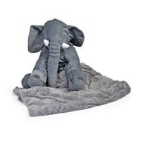 Párna, takaró és baba pozicionáló,szürke
