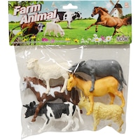 set figurine animale domestice