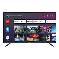 """Smart Tech SMT43F30UC2M1B1 Smart Android TV, Ultra HD LED, 43"""" (109.0cm), 1.5G/8G Dolby Audio,2T2R Wi-Fi,Bluetooth,Google Assistant,Netflix,YouTube"""