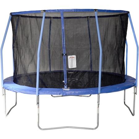 Trambulina agrement copii GameTime Sports, 12FT-366 cm, culoare albastru