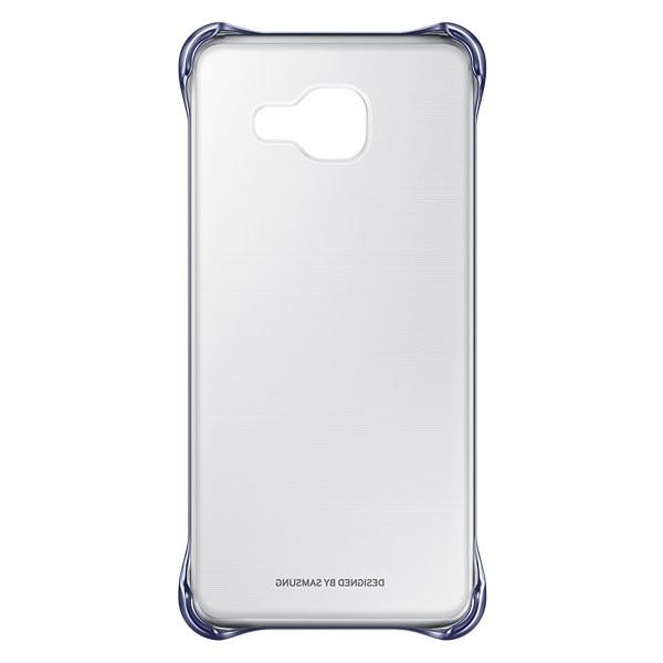 Fotografie Capac de protectie spate Clear Cover Samsung pentru Galaxy A3 (2016), Black