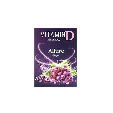 Пълнители за устройство El Shisha Allure, 3 броя, Витамин D с аромат на Грозде, Без Никотин
