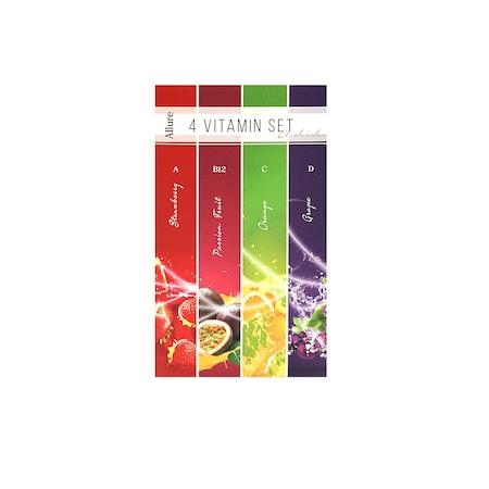 Пълнители за устройство El Shisha Allure, Комплект 4 витамина, 4 броя, Без Никотин