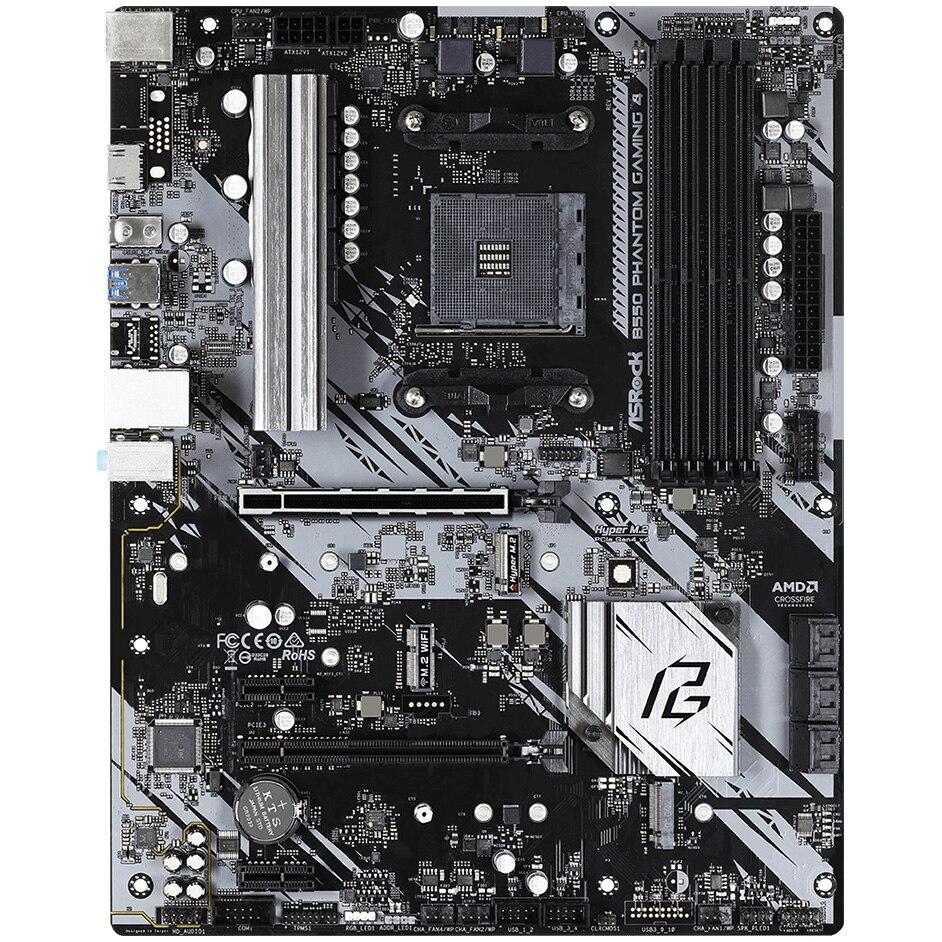 Fotografie Placa de baza ASRock B550 Phantom Gaming 4, Socket AM4