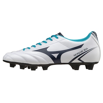 Mizuno Monarcida MD futballcipő, Fehér/Kék