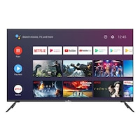 """Smart Tech SMT50F30UC2M1B1 Smart Android TV, Ultra HD LED, 50"""" (127.0cm), 1.5G/8G Dolby Audio,2T2R Wi-Fi,Bluetooth,Google Assistant,Netflix,YouTube"""