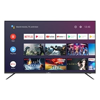 """Smart Tech SMT55F30UC2M1B1 Smart Android TV, Ultra HD LED, 55"""" (140.0cm), 1.5G/8G Dolby Audio,2T2R Wi-Fi,Bluetooth,Google Assistant,Netflix,YouTube"""