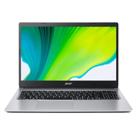 "Acer Aspire 3 A315-23-R6BR 15,6"" FullHD laptop, AMD® Athlon™ Silver 3050U, 4GB, 256GB SSD, AMD® Radeon™ Graphics, Linux, Magyar billentyűzet, Ezüst"