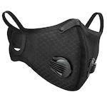 Masca Neagra de Protectie, Aspect Modern, Sport, cu Filtru de Carbon, 2 Valve