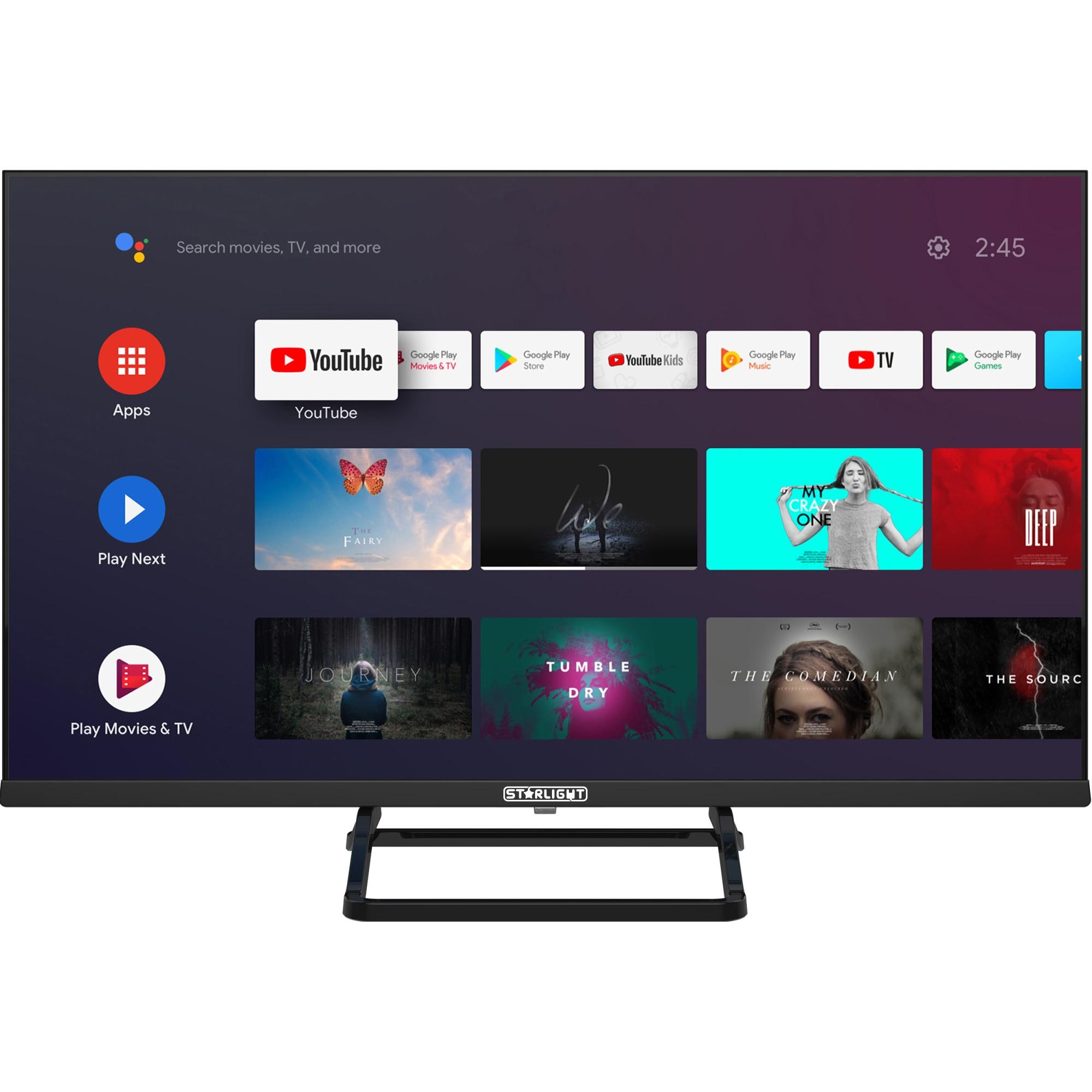 Fotografie Televizor Star-Light 32DM6700, 80 cm, Smart Android, HD, LED, Clasa F