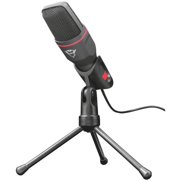 Fotografie Microfon Trust GXT212 Mico, conectare USB&3.5mm, Tripod, Negru