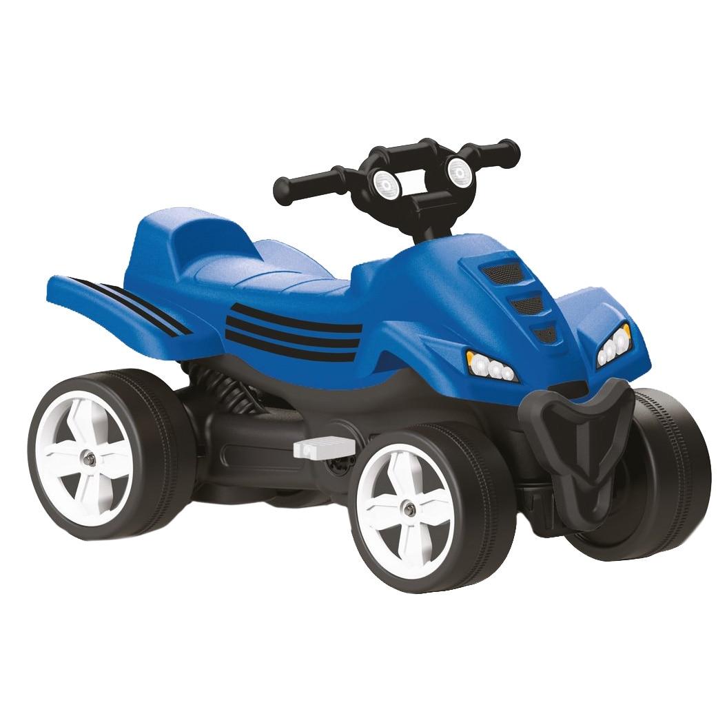 Fotografie ATV cu pedale pentru copii Dolu, albastru