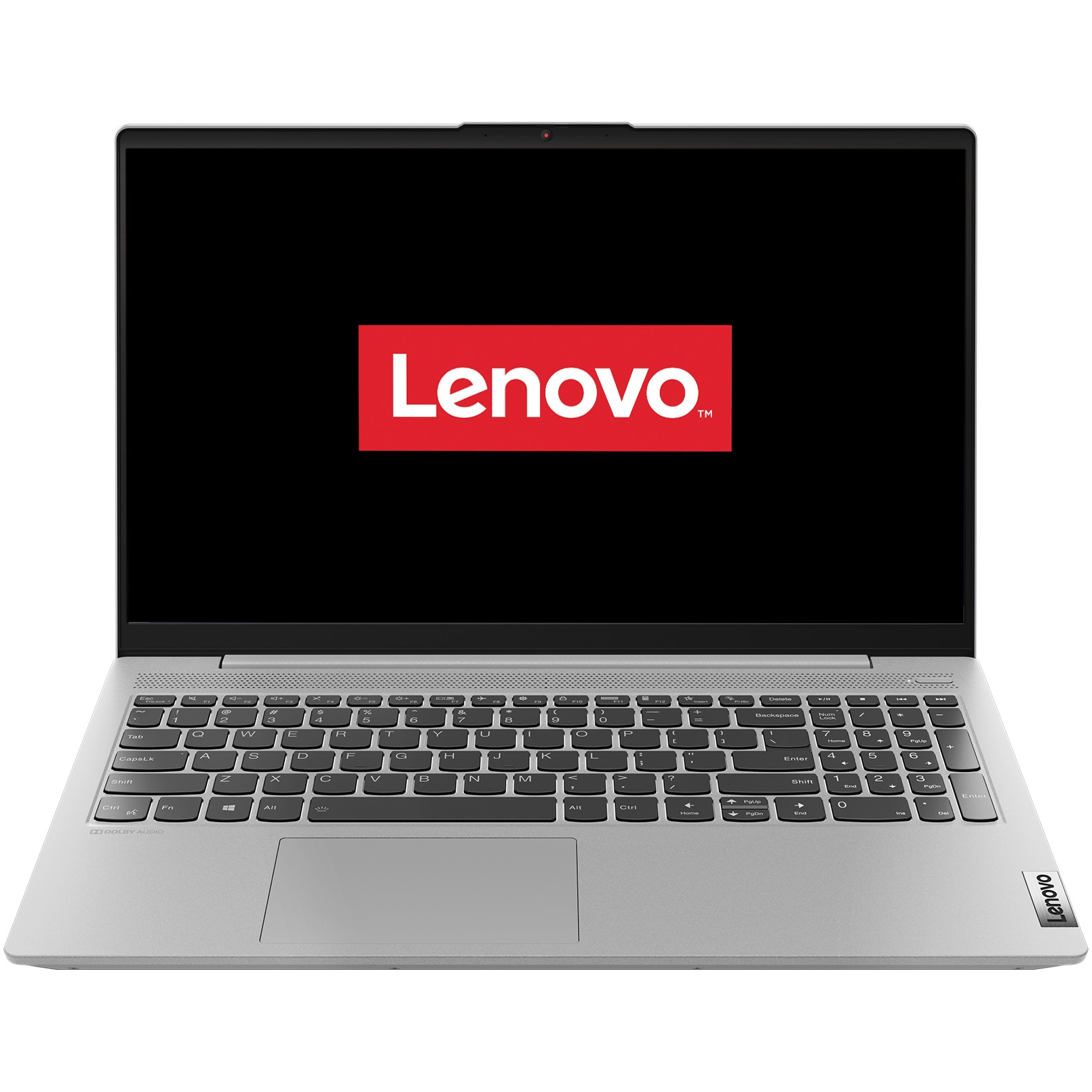 "Fotografie Laptop Lenovo ultraportabil IdeaPad 5 15ARE05 cu procesor AMD Ryzen 7 4800U pana la 4.20 GHz, 15.6"", Full HD, 16GB, 512GB SSD, AMD Radeon Graphics, Free DOS, Platinum Grey"