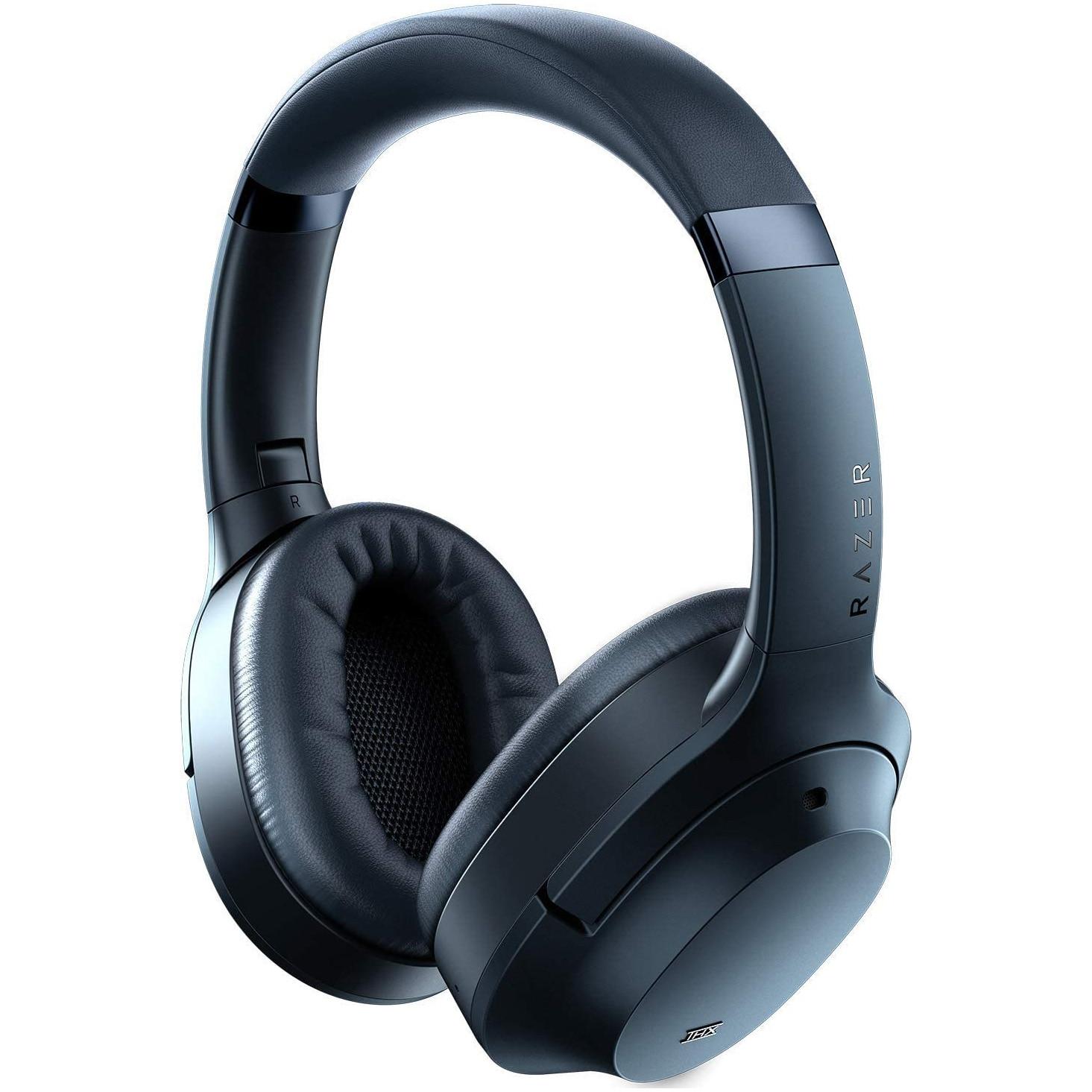 Fotografie Casti wireless Razer Opus, THX Certified, Advanced ANC, Bluetooth, USB-C, Midnight Blue