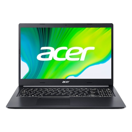 Лаптоп Acer Aspire 5 A515-44G-R77H с AMD Ryzen 5 4500U (2.3/4.0GHz, 8M), 20 GB, 1TB M.2 NVMe SSD, AMD RX 640 2 GB GDDR5, Windows 10 Home 64-bit, черен