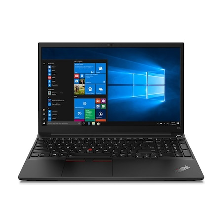 Лаптоп Lenovo ThinkPad E15 с AMD Ryzen 3 4300U (2.7/3.7GHz, 4M), 8 GB, 500GB M.2 NVMe SSD, AMD Radeon Vega 5, Windows 10 Home 64-bit, черен