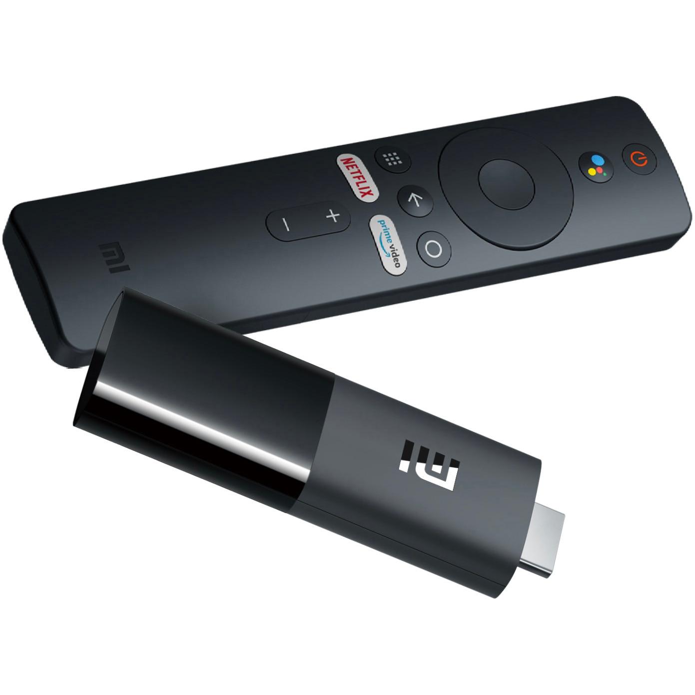 Fotografie Mediaplayer Xiaomi Mi TV Stick, Full HD, Chromecast, Control Voce, Bluetooth, Wi-Fi, HDMI, Negru