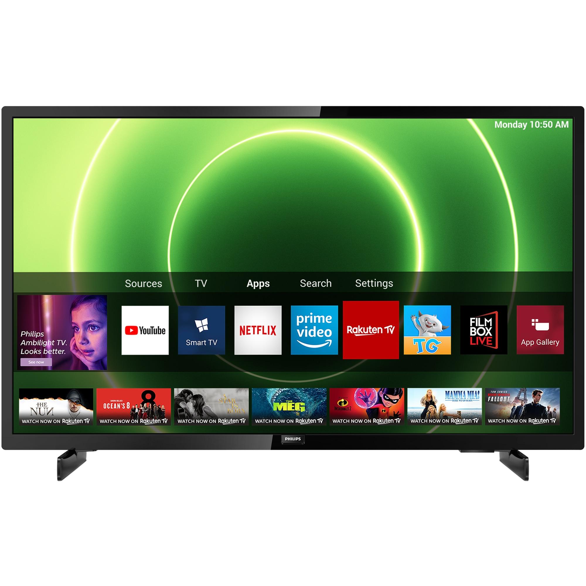 Fotografie Televizor Philips 32PFS6805/12, 80 cm, Smart, Full HD, LED, Clasa F
