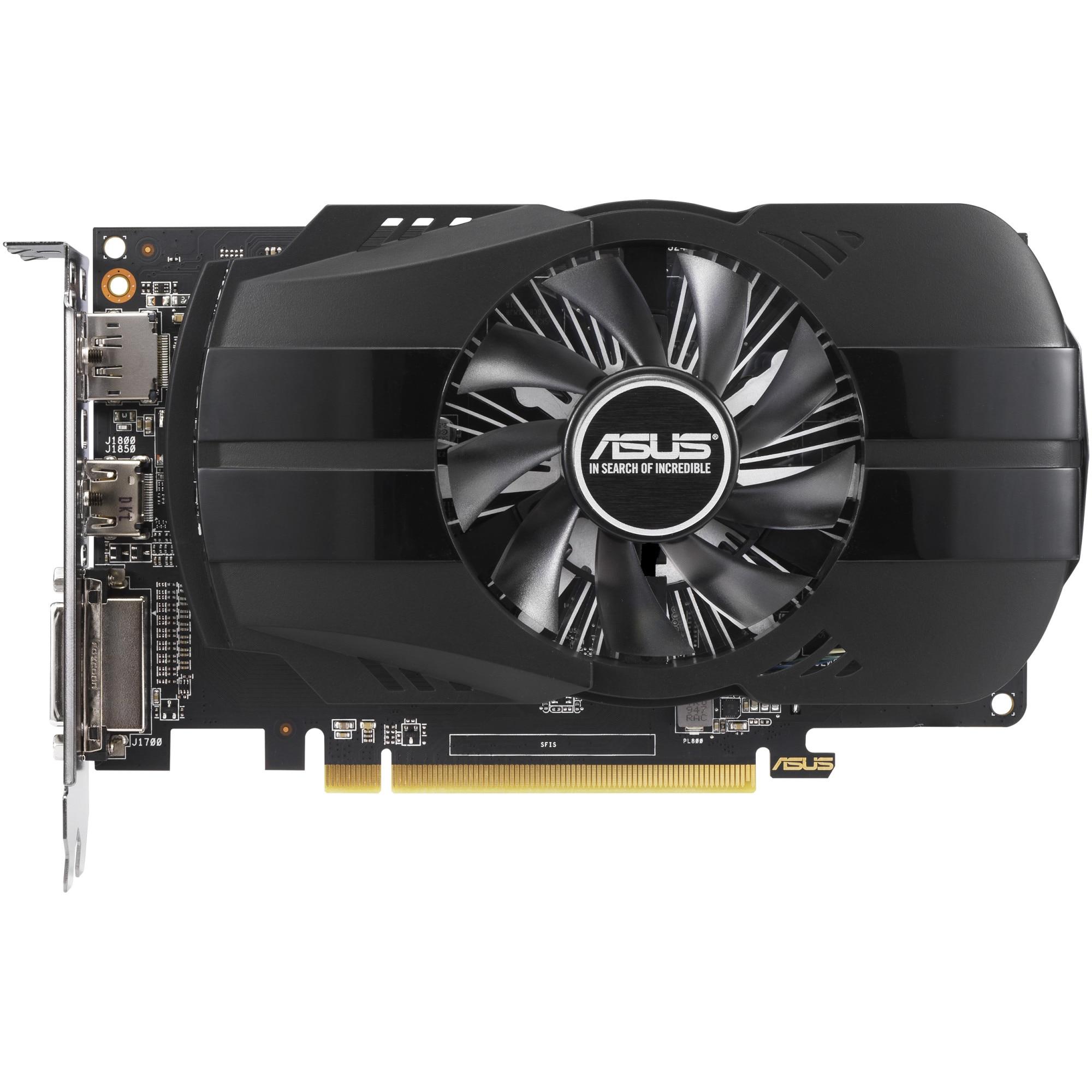 Fotografie Placa video Asus Phoenix Radeon™ RX 550, 4GB GDDR5, 128-bit