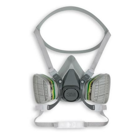 Set semimasca de protectie respiratorie 3M-6200 si filtru 3M-6051, 2 buc