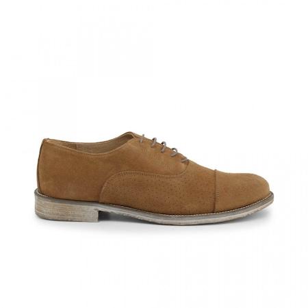 Pantofi barbati, Made in Italia, 1003_CAMOSCIO-B, Maro deschis, 41