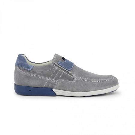 Pantofi barbati, Made in Italia, 225_CAMOSCIO, Gri, 41
