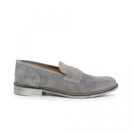 Pantofi barbati, Made in Italia, 1000_CAMOSCIO, Gri, 39
