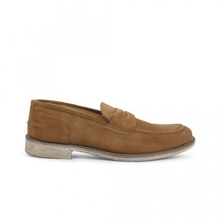 Pantofi barbati, Made in Italia, 1000_CAMOSCIO, Maro deschis, 45