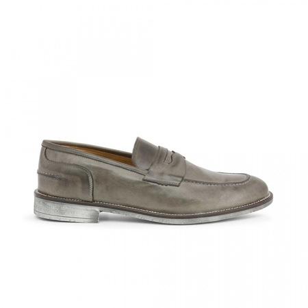 Pantofi barbati, Made in Italia, 1000_CRUST, Gri, 40