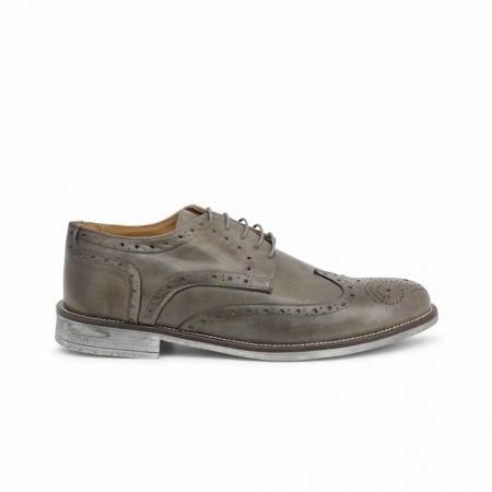 Pantofi barbati, Made in Italia, 208_CRUST, Gri, 40