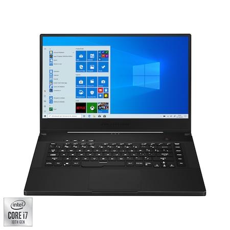 "Лаптоп Gaming ASUS ROG Zephyrus M15 GU502LW, 15.6"", Intel® Core™ i7-10750H, RAM 16GB, SSD 1TB, NVIDIA®GeForceRTX™2070Max-Q 8GB, Microsoft Windows 10 Home, Black"