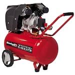 Einhell TE-AC 400/50/10 V Kompresszor, 2200 W, 2 henger, 270 l/perc teljesítmény, 10 bar max. nyomás, 50 l tartály térfogata