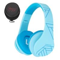 PowerLocus P2 Bluetooth fejhallgató, 85DB Csökkentett hangerőszint, gyerekeknek , kék