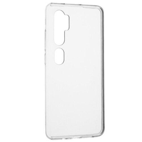 Fotografie Husa de protectie Senso Silicon pentru Xiaomi Mi Note 10/Mi Note 10 Pro, Transparent