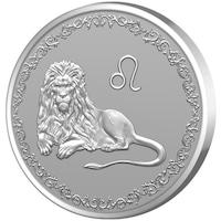 Сребърен медальон Gold Center Зодия Лъв