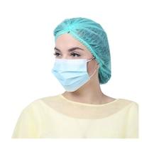 Комплект предпазни маски за лице, 50 бр. кутия, трислойни, еднoкратни