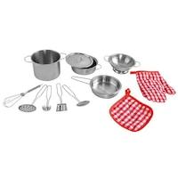 Játék konyhai edénykészlet játékkonyhába 12 részes