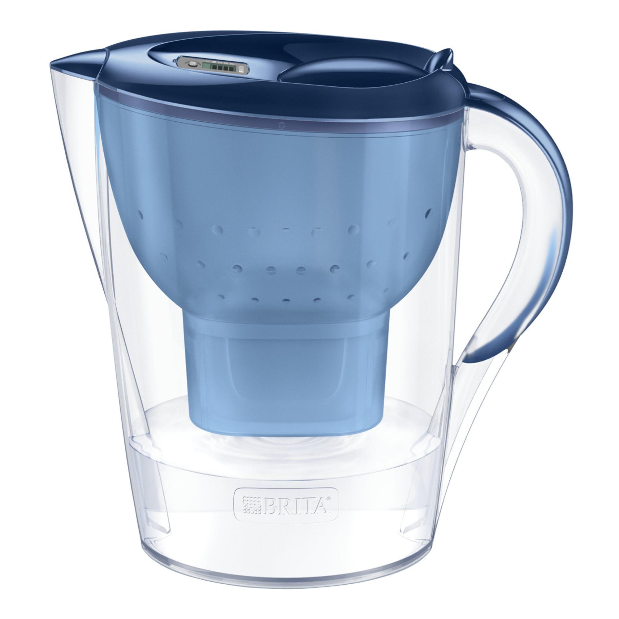 Fotografie Cana filtranta Marella XL 3.5 L cu 2 cartuse MAXTRA+, albastra