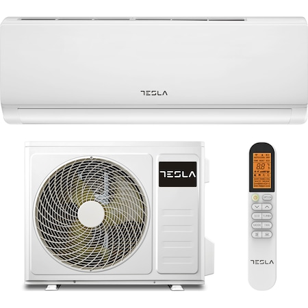 Климатик TESLA 12000 BTU Wi-Fi, Клас A++, Функция за отопление, Turbo функция, Антибактериален филтър, I Feel, Противогъбична функция, Самопочистване, Корпус против ръжда, R32, TT34XA1-1232IAW