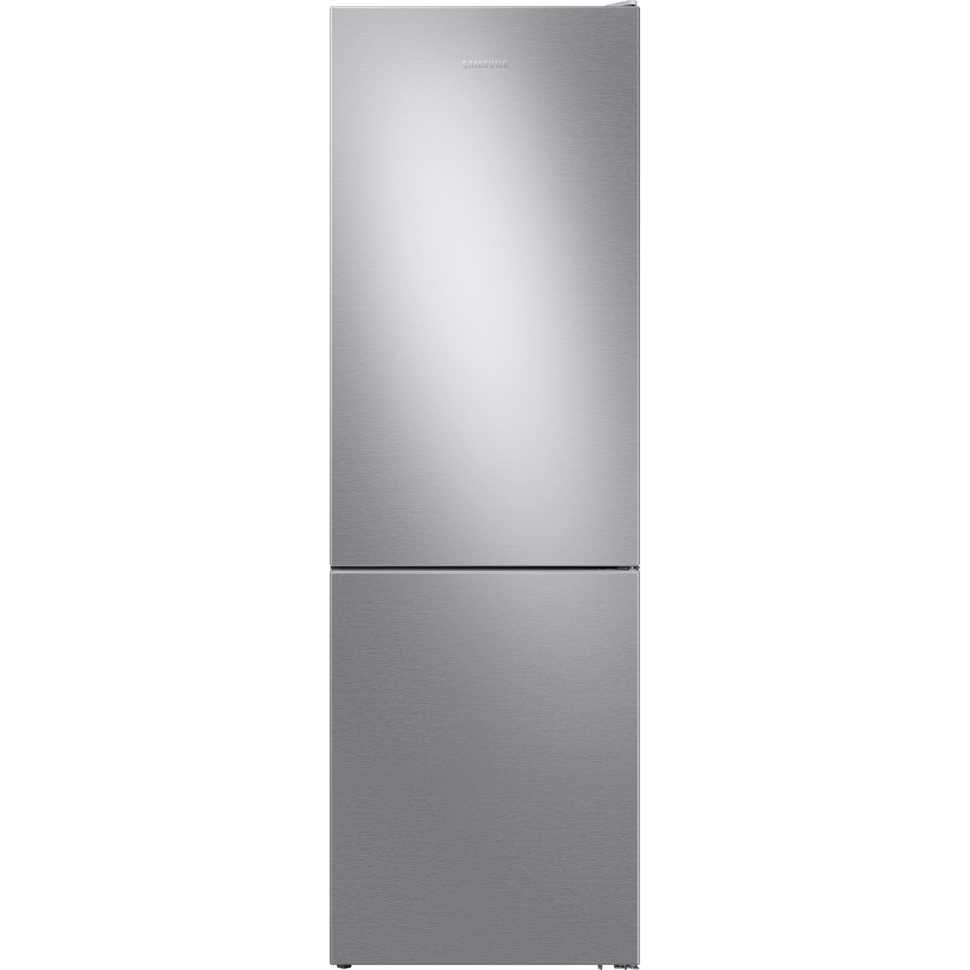 Fotografie Combina frigorifica Samsung RB3VTS104SA/EO, 317 l, Clasa E, No Frost, Twin Cooling, Compresor Digital Inverter, H 186 cm, Argintiu