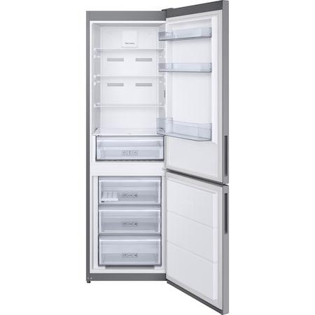 Хладилник Samsung RB3VTS104SA/EO, 317 l, No Frost, Twin Cooling, Дигитален инверторен компресор, Клас A++, H 186 см, Сребрист