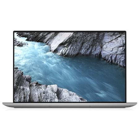 Лаптоп Dell XPS 9500 с Intel Core i5-10300H (2.50/4.50 GHz, 8M), 8 GB, 1TB M.2 NVMe SSD, Intel UHD Graphics, Windows 10 Home 64-bit, сребрист / Черен