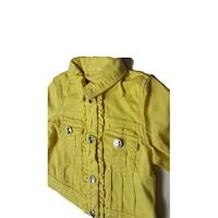 Дънчено яке Mayoral, жълто, с копчета, 3м