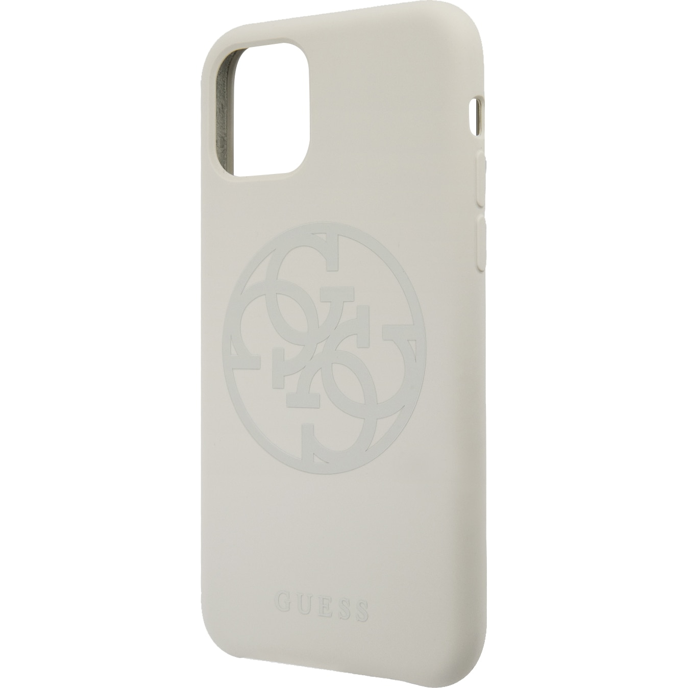 Fotografie Husa de protectie Guess Silicone Tone On Tone GUHCN58LS4GLG pentru iPhone 11 Pro, White